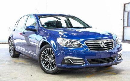 2016 Holden Calais VF II Blue 6 Speed Automatic Sedan