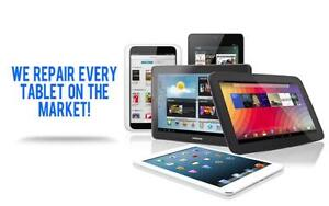 iPad Screen REPAIR- Repairing all makes of tablets