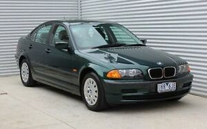 1998 BMW 318I E46 Green 4 Speed Automatic Sedan Thomastown Whittlesea Area Preview