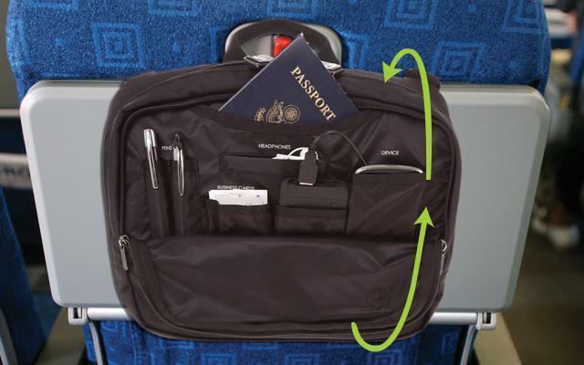 Genius Pack High Altitude Flight Bag Item 102 Jet Black - $11.99