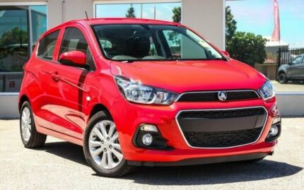 2017 Holden Spark MP MY17 LT Red 1 Speed Constant Variable Hatchback