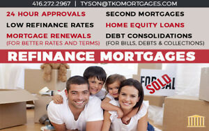 Refinance Mortgage: Renewals ✚ Debt Consolidation ✪ Low Rates ✪