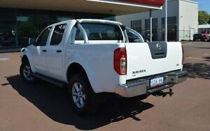 2012 Nissan Navara D40 S6 MY12 ST White 6 Speed Manual Utility Gosnells Gosnells Area Preview