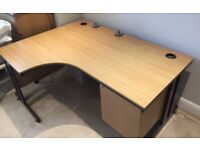 Large Office Desk. Very Sturdy. Great Condition
