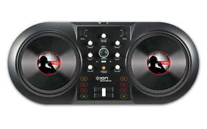 ION Discover DJ Turntable USB Controller Computer DJ System