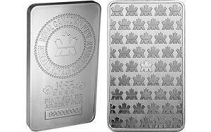 Silver Bars for Sale - RCM 10 oz Silver bullion bars .9999