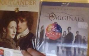 The Originals s1+2 Bluray and Outlander s1+2 sealed $40 each Melbourne CBD Melbourne City Preview