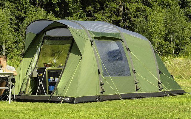 Outwell Clipper M Tent - fast pitching four berth tent featuring innovative Air beam technology & Outwell Clipper M Tent - fast pitching four berth tent featuring ...