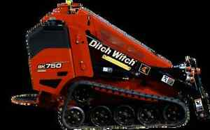 LOOKING FOR:  MINI DITCH WITCH Moose Jaw Regina Area image 1