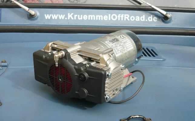 Professioneller 12V 2 Zyl. Kompressor Nardi Esprit ..Druckluft in Essen