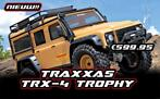 Traxxas TRX-4 Land Rover Crawler Sandglow Limited Trophy