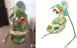 Fisher price, Rain forest Baby swing