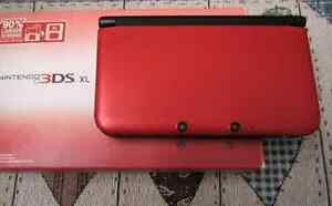 3DS XL red color
