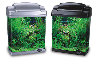6 LITRE AQUARIUM / FISH TANK (HAILEA FC-200) - BLUE OR PURPLE