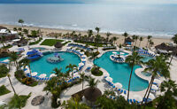 HardRock Vallarta!  Children 12 & under stay for free in summer!