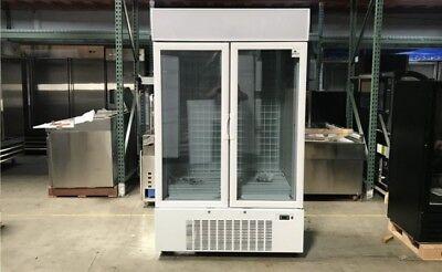Coolerdepot Two Glass Door Freezer Gf10 Two Glass Door Merchandiser Freezer