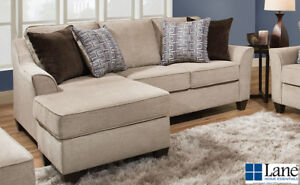 Taupe 2 PC Sectional