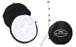 Savage collapsible reversable backdrop with stand