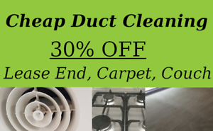 Duct Cleaning Melbourne | End of Lease, Carpet, Vacate Cleaning