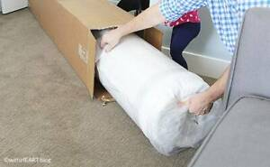 BRAND NEW POCKET SPRING MATTRESSES VACCUM ROLLED IN BOX.FITS IN CAR