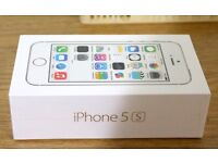 Apple iPhone 5s 16GB Silver in a Box with all the Accessories - SIM FREE UNLOCKED TO ALL NETWORKS