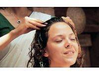 Hair Oil Massage and Steam Treatment