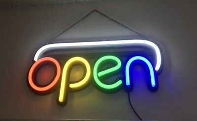 Led Business Open Sign M19 Opening Sign Brand New Restaurant Equipment