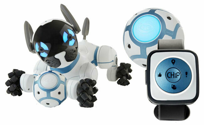 🐶CHIP INTERACTIVE ROBOTIC DOG PUPPY FROM WOWWEE NEW IN SE