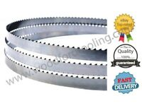 "For SCHEPPACH BASATO 1 PACK OF 3 BANDSAW BLADES 1/4, 3/8 & 1/2"" 1490mm LONG Online"