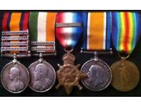 WANTED MILITARY MEDALS