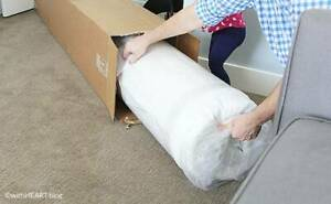 BRAND NEW POCKET SPRING MATTRESSES VACCUM ROLLED IN BOX.