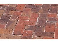 Clay pavers - Chelmer Valley Dorset Antique, approx 2/3 pallet - £450