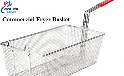 New Commercial Fryer Basket 70lbs Model Spare Part. Basket Only 13 X 9.5 X 6