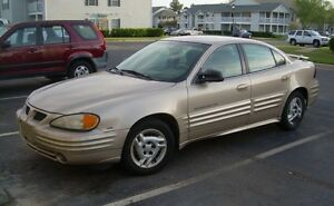 2001 Pontiac Grand Am Sedan SE