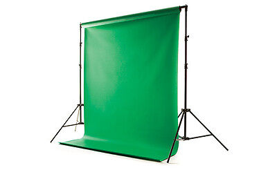 9x15' Chromakey Chroma Key Green Screen Muslin Fabric Backdrop, used for sale  Kingwood