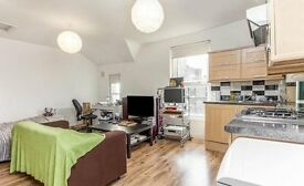 STUDIO/1 BEDROOM, NEWLY REFURBISHED, WOODEN FLOORING, TOP FLOOR, MOMENTS FROM TRANSPORT LINKS