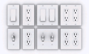Electrical outlets swiches plates Osoyoos