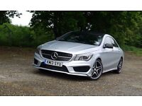 """FOUR MERCEDES CLA STYLE ALLOYS 18"""" WITH TYRES WILL ALSO FIT A B C E S CLASS CLK SLK AMG"""
