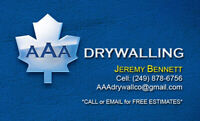 Drywall professionals