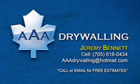 Experienced Drywall Team at Your Service!