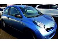 NISSAN MICRA 2010 31,700 MILES 1.2 PETROL 3 DOOR HATCHBACK MANUAL BLUE