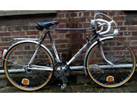 Vintage road racing bike NORD - FRANCE frame size 21inch, serviced WARRANTY - new showroom condition