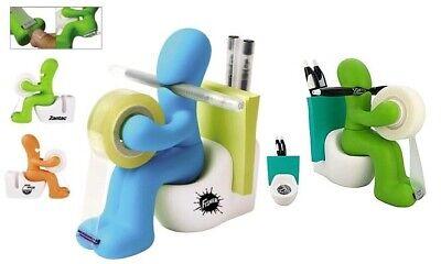 Toilet Tape Dispenser Penpaper Clippost-it Note Holder Novelty Stationery Set