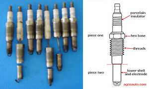 FORD V8 SPARK PLUG removal service, broken or not