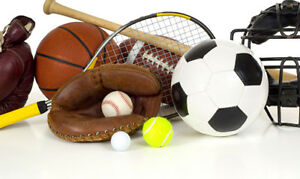URGENTLY NEEDED - SPORTING GOODS