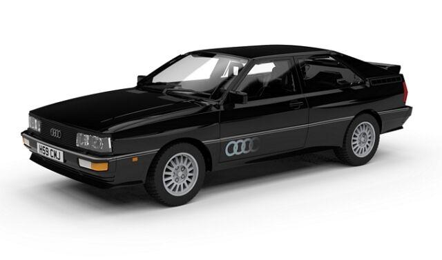 VA12904 Corgi Audi Quattro 20V Pantha Black Metallic 1:43 Diecast Model Car