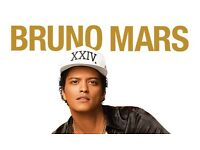 4 X tickets for BRUNO MARS @SSE HYDRO 12/04/17