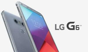 LG G6 Like Brand new in box for sale 6 months warranty with LG $400 only  with free glass screen protector and case