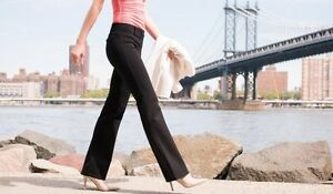 Betabrand  Boot-Cut | Black Dress Pant Yoga Pants