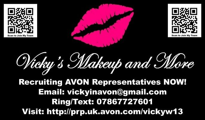 Vicky's Make Up Reps